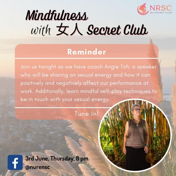 Every Thursday LIVE – Mindfulness with NRSC