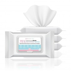 RW 75% Alcohol Wipes bundle (5 packages)